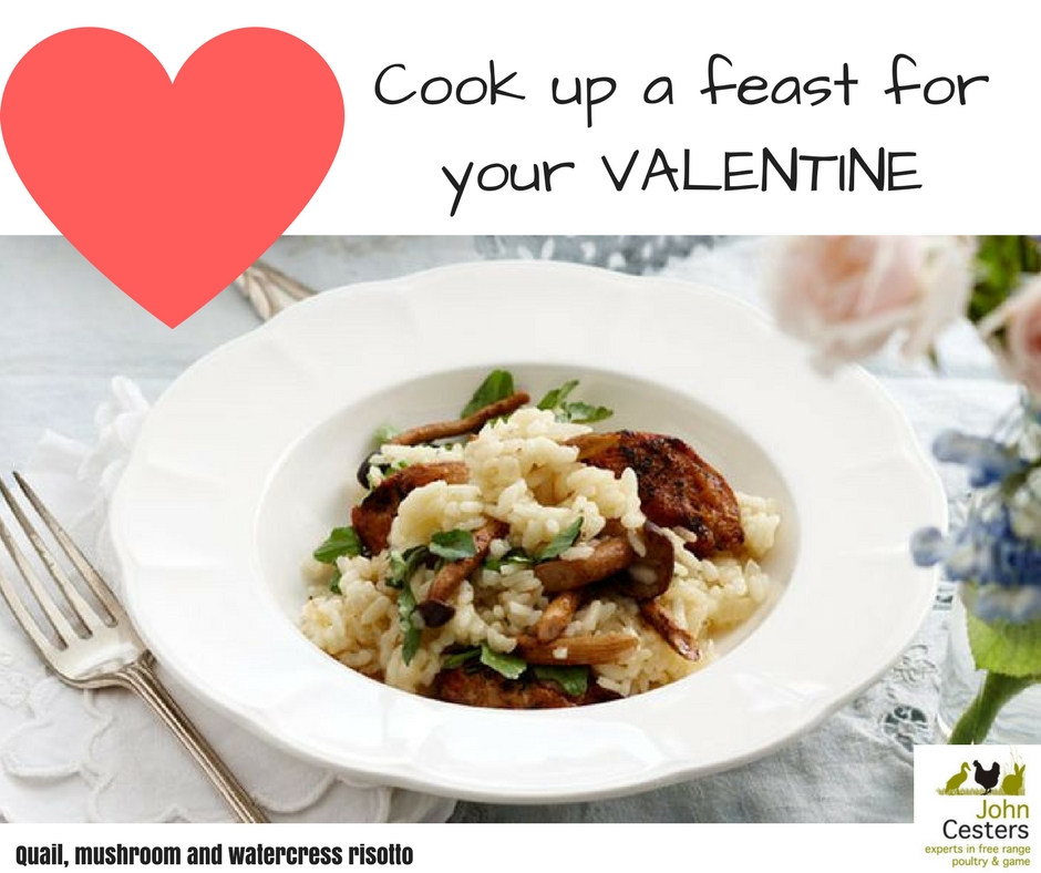 Cook up a feast for your VALENTINE